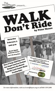 """Walk, Don't Ride!"" Play @ Bessie Smith Cultural Center 